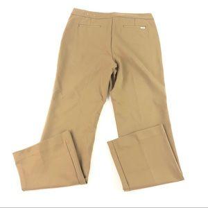 Anne Klein Women's Tan Dress Pants 12